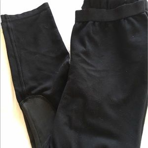 Tory Burch Black jockspur Style Leggings